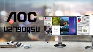 [Cowcot TV] Présentation écran AOC U2790PQU