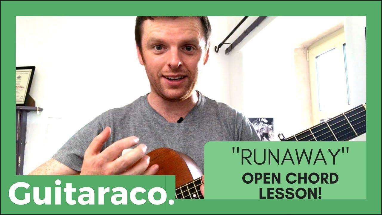 Passenger Runaway Easy Guitar Lesson Open Chords Youtube