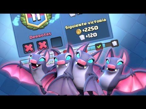¡¿POR QUÉ ME PASAN ESTAS COSAS?! Jugando el Desafío de los Murciélagos | Clash Royale