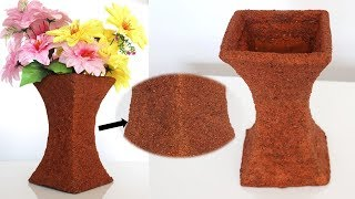 DIY handmade flower vase || flower pot || best out of waste DIY & craft
