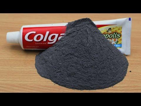 EXPERIMENT Gunpowder vs Toothpaste