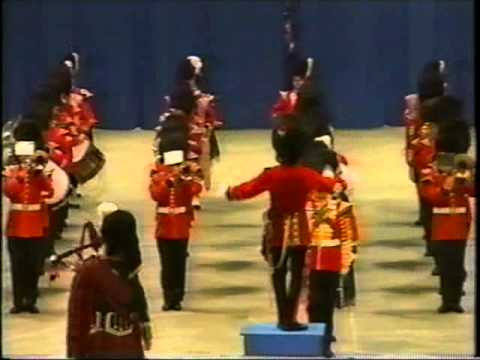 Royal Regiment of Canada Band with 48th Highlanders Pipes & Drums May 2002