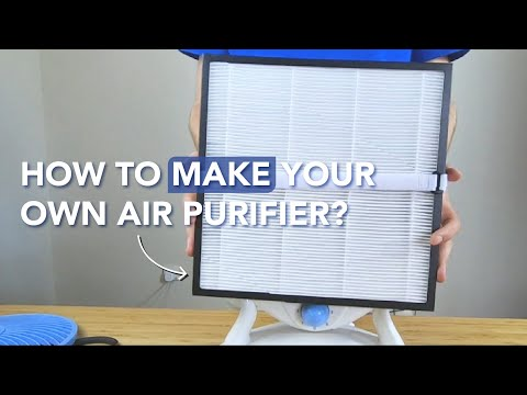 3 Steps to Build Your Own Air Purifier