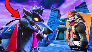 My S6 KILL RECORD as the Werewolf Skin! - Fortnite Werewolf Skin Gameplay!