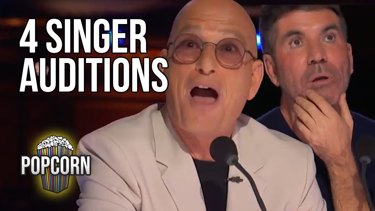 4 Singing Auditions That Shocked The Judges On Americas Got TALENT 2021 Week 2