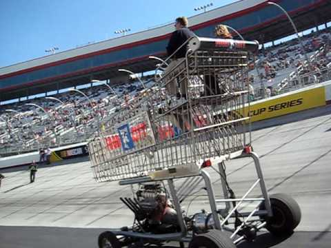 Mustang Club Of America >> Bad A$$ Prostreet Shopping Cart Bristol Motor Speedway - YouTube