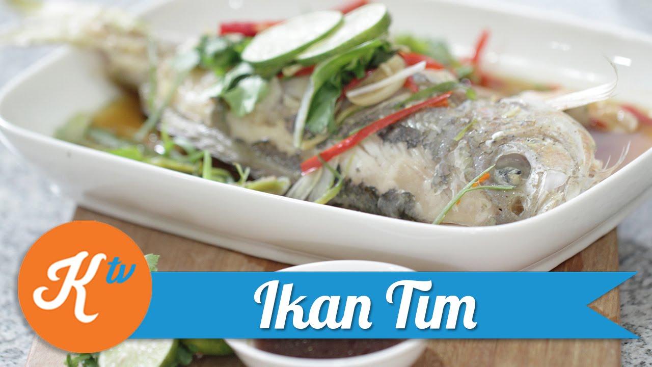 Resep Ikan Tim Catherine Sumitri Youtube