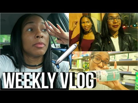 HOW WE GOT CHEAP FLIGHTS FOR THE HOLIDAYS, GIVEAWAY SHOPPING TRIP| WEEKLY VLOG