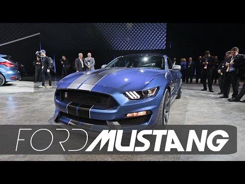 Detroit: Mustang Shelby GT 350R se destaca no estande da Ford
