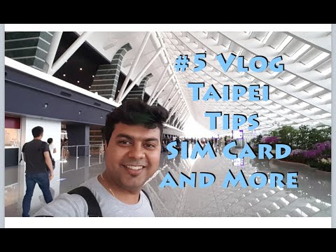 Part 2 #5 Vlog Hong Kong to Taipei, Immigration Tip, Unlimited Data Phone Taiwan