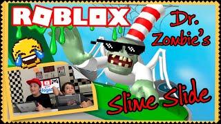Slime Slide Roblox - roblox dr zombie s slime slide