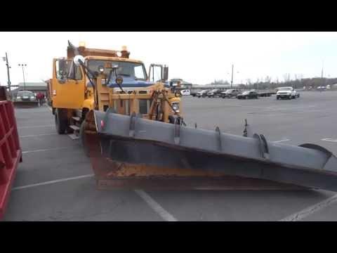 International 2574 Snow Plow - X NYSDOT