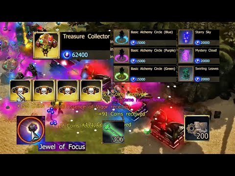 250K Andermant Premium Day Shopping, Treasure Collector Pet, Belt of Zeal || Dark Legacy Ranger #40