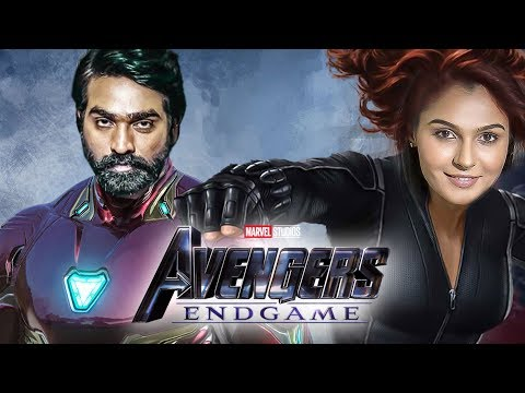 OFFICIAL: Vijay Sethupathi As IRON MAN, Andrea As BLACK WIDOW | Avengers: Endgame Trailer | TK