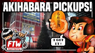 Akihabara Pickups Explosion! Over 60 Japanese Games & Pieces of Memorabilia - Import Pickups FTW! #3