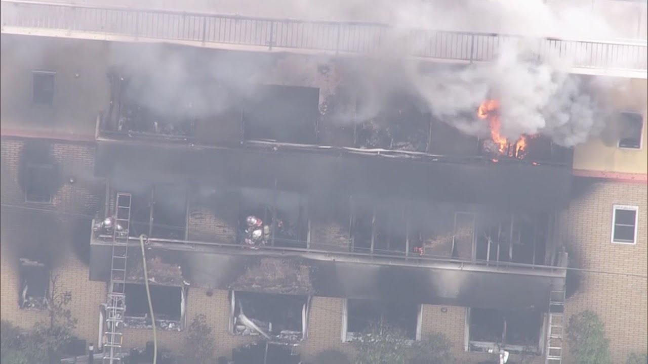 More than 20 presumed dead in Japan anime studio fire