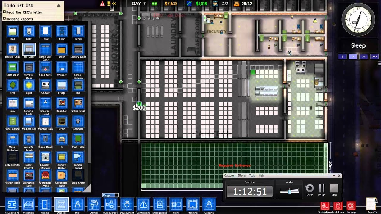Prison Architect Alpha 25 05 Staff Room Is Only