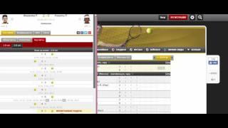 теория теннисного матча на практике