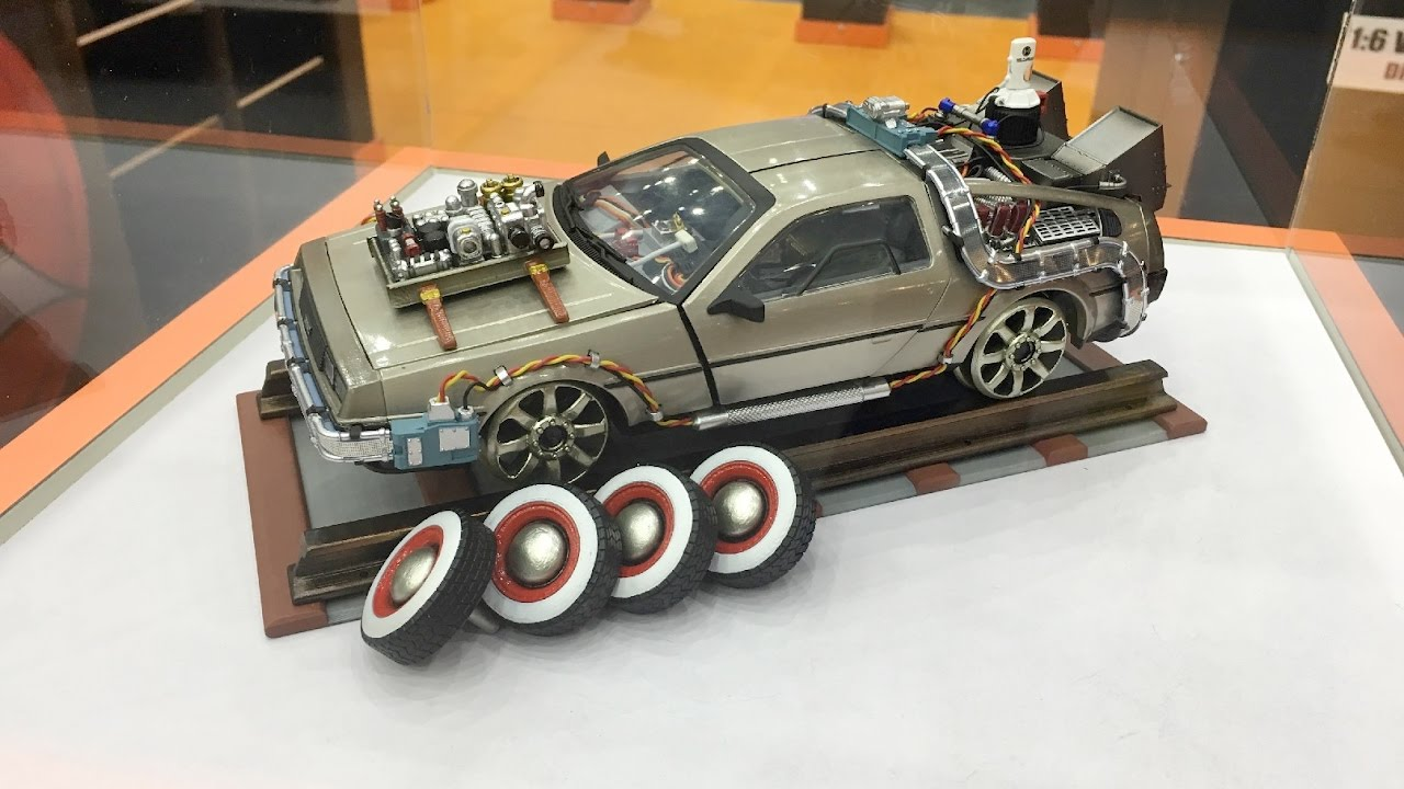 Delorean Time Machine >> TOY SOUL BTTF Part 1, Part 2 and Part 3 Deloreans by KIDS LOGIC - YouTube
