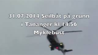 Seilbåt gikk på grunn i Tananger!