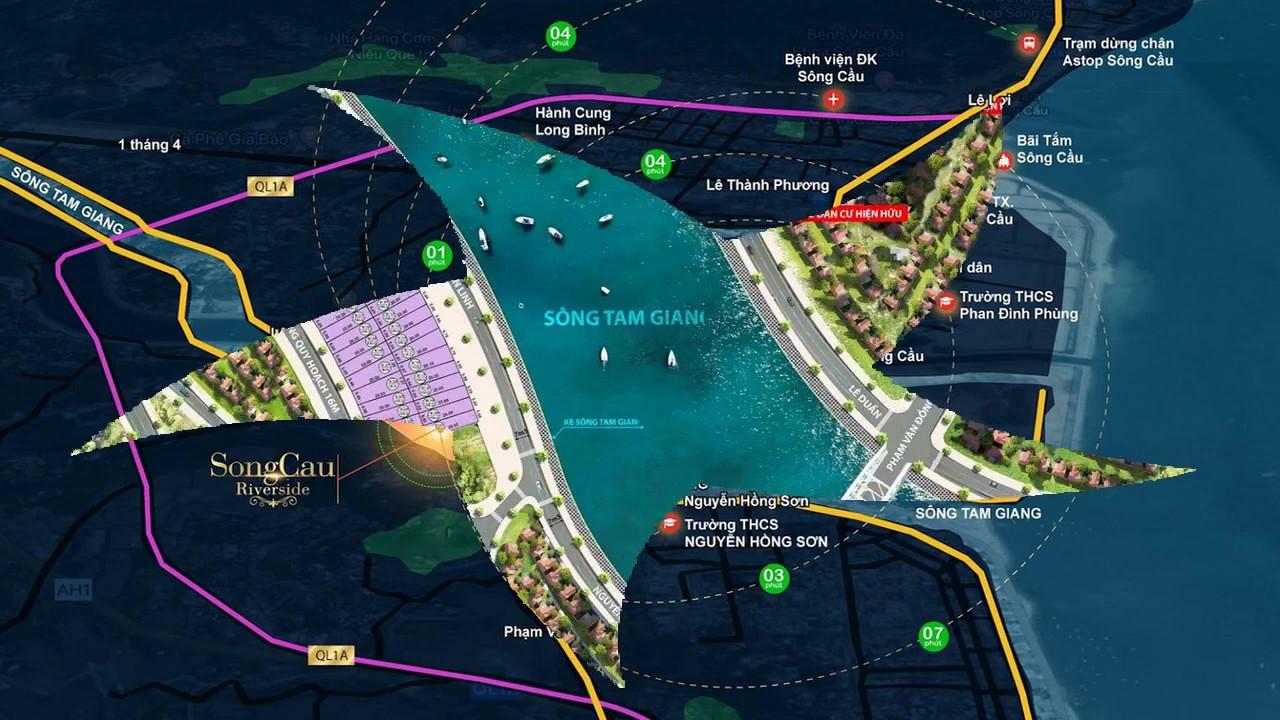 Dự án đất nền mặt sông thị xã Sông Cầu Phú Yên…Hotline 0905 427 009
