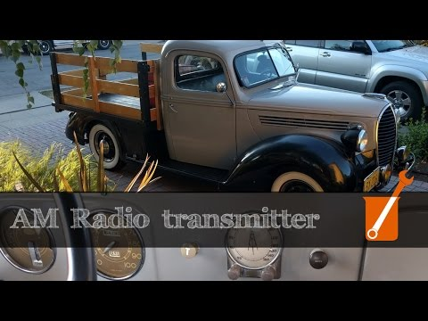 AM transmitter for antique radios and other project updates