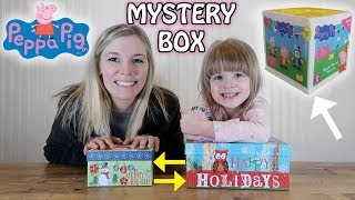 MYSTERY BOX SWITCH UP TOY UNBOXING! THE PEPPA PIG SECRET SURPRISE BOX (BRAND NEW)