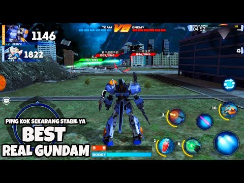 Sangat Recomended! MOBILE SUIT GUNDAM BATTLE Android IOS Gameplay