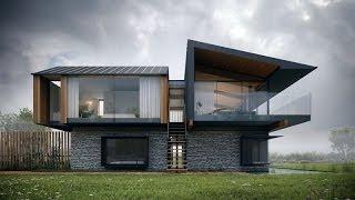 casas pisos casa dos modernas modern hyde con silver architects die glass interior