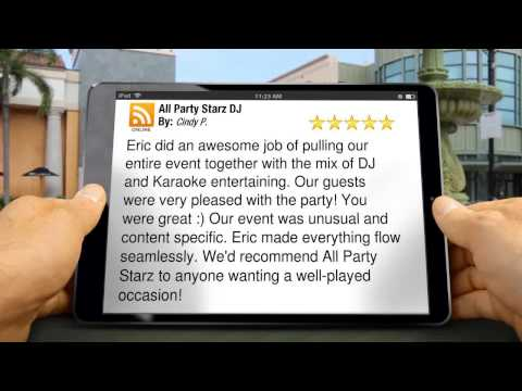 Holiday DJ Bryn Mawr PA Reviews - All Party Starz DJ - Affordable Holiday DJ Bryn Mawr PA