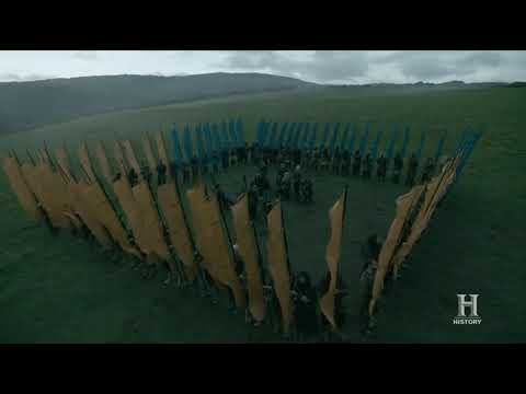 Vikings S05E08 - Ivar And Lagertha Armies Discuss About Peace (PART 1)
