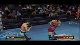 Fight Night Round 3 - Ricky Hatton Vs Oscar De La Hoya Gameplay PC (Emulator)