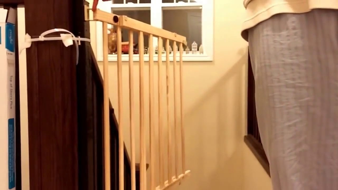 Evenflo Top Of Stairs Plus Baby Gate Review Amp Installation