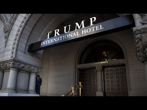 Human Rights Campaign Projects CDC 'Banned' Words On Trump Hotel