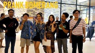 PRANK BOMERANG SAMA KAKAK CANTIK   PRANK INDONESIA