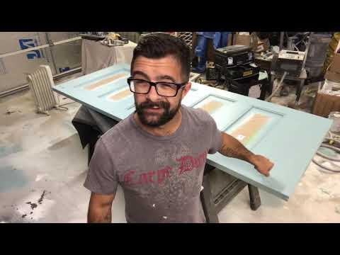 Cabinet Glazing Colors. Axalta Powder Glaze Tutorial