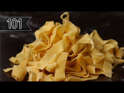 How to make simple fresh pasta