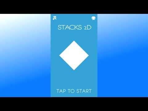 Моя простая Android игра на Unity в Google Play - Stack 2D. Для прикола.