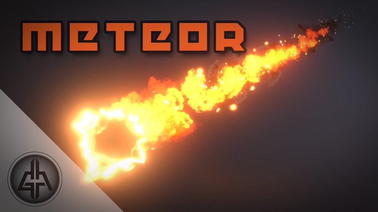 ArtStation - Unity Shader Graph - Meteor VFX, Gabriel Aguiar