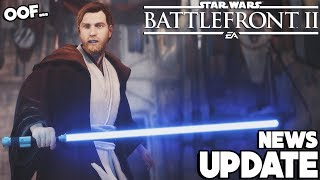 NEWS UPDATE: DICE FINALLY Listens to Our Heroes vs Villains Complaints... (Star Wars Battlefront 2)