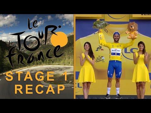 Tour de France 2018: Stage 1 Recap I NBC Sports