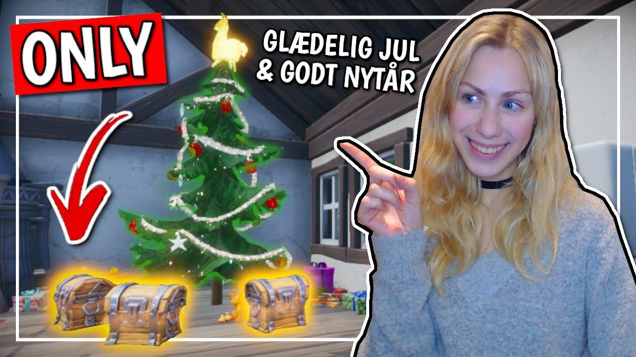 Christmas loot *ONLY* Challenge (FORTNITE DANSK)