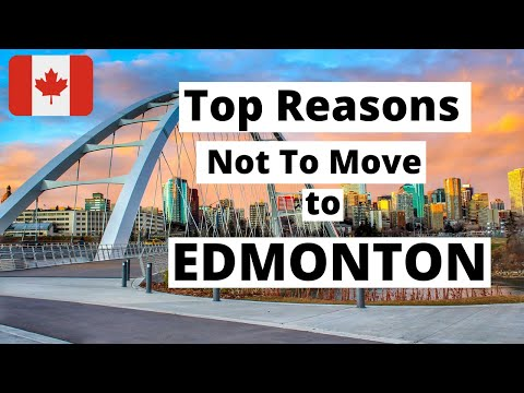 Top Reasons Not To Move To Edmonton