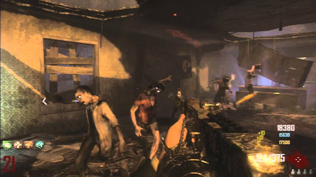 Black Ops 2 Zombies: Pack a Punch on Town Part 2: MTAR ... M1216 Black Ops 2