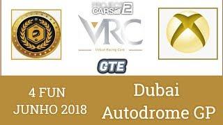 GTE - DUBAI Autodrome GP