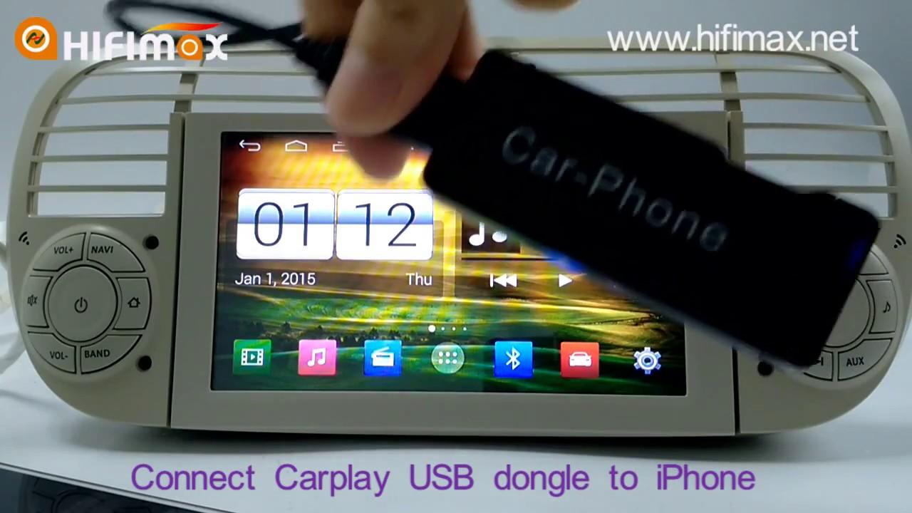 carplay usb dongle