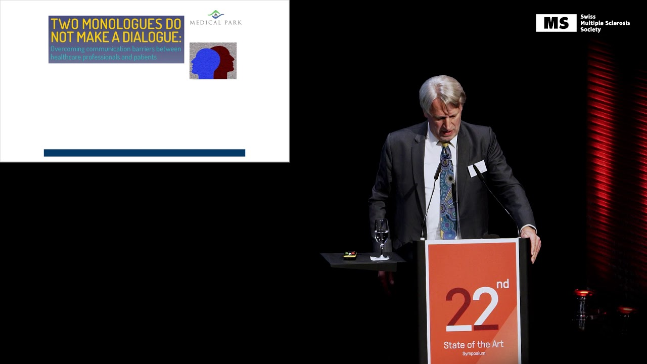 22nd State of the Art Symposium – Peter Rieckmann: MS in the 21st Century