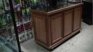 Great Lakes Aquariums 36 Inch Tall Real Cherry Wood Stand.mp4