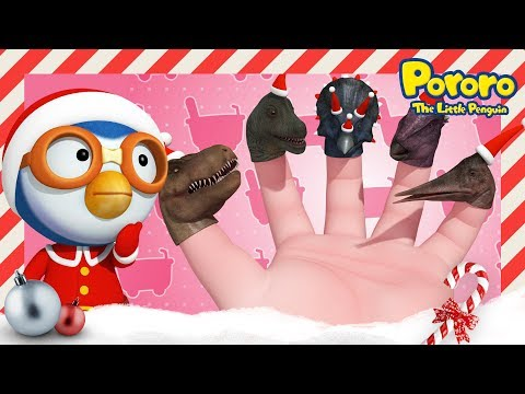 Finger Family (Christmas ver.)   Christmas song for kids   Nursery Rhymes   Porong Porong Pororo