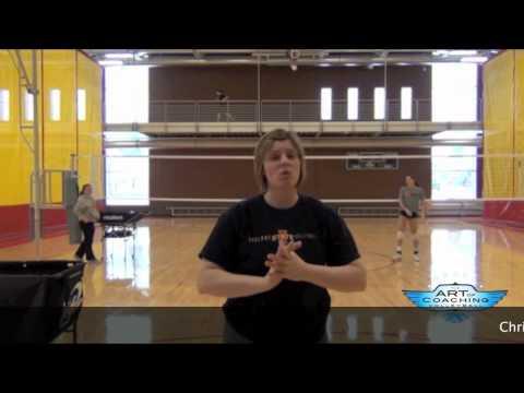 Art of Coaching Volleyball  Setting Drills  Christy JohnsonLynch